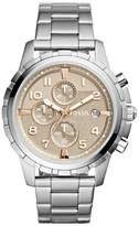 Fossil Dean Chrongraph Bracelet Watch, 45Mm