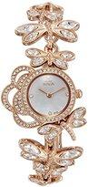 Titan Women's 'Raga Garden of Eden' Quartz Metal and Brass Casual Watch, Color:Rose Gold-Toned (Model: 95011WM02)