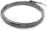 Chan Luu 3 Wrap Choker Necklace