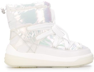 Moncler Iridescent Padded Boots