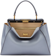 Fendi Blue Regular Peekaboo Bag