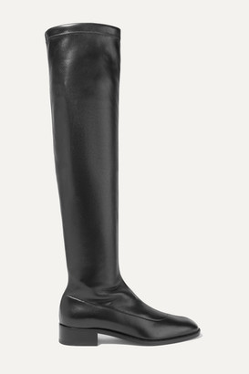 Christian Louboutin Theophila 30 Stretch-leather Over-the-knee Boots - Black