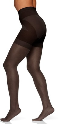 Berkshire Women's Butt Booster with Shimmer Ultra Sheer Leg and Sandalfoot Toe