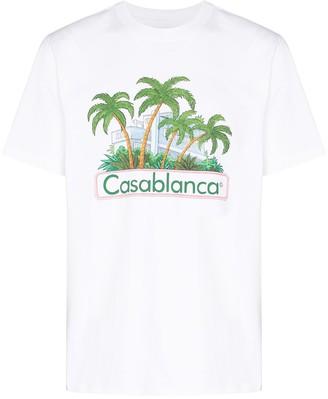 Casablanca x Browns 50 Island graphic-print T-shirt