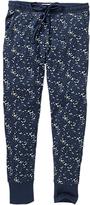 Fat Face Luna Sky Jersey Legging Pyjama Bottoms, Navy