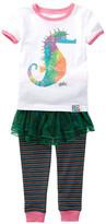 Intimo Eric Carle Seahorse Tutu Pajama Set (Toddler Girls)