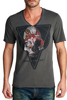 Cult of Individuality Death of Flowers V-Neck Tee