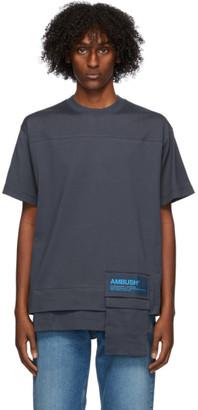 Ambush Navy New Waist Pocket T-Shirt