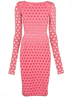 MAISIE WILEN Perforated Style Dress