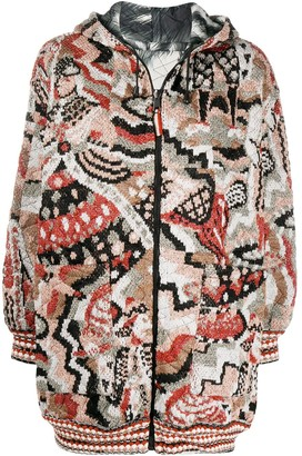Missoni Reversible Quilted Knit Coat