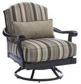 Tommy Bahama Kingstown Sedona Swivel Patio Chair with Sunbrella Cushions Outdoor