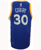 adidas Kids' Stephen Curry Golden State Warriors New Swingman Jersey