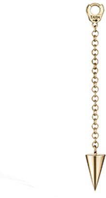 Maria Tash 20mm Short Spike Pendulum Yellow Gold Charm