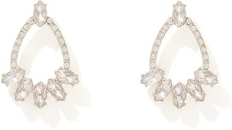 Forever New Acadia Mixed Stone Statement Stud Earrings - Vintage Rose & Crystal - 00