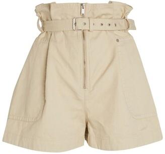 Etoile Isabel Marant Parana Belted Shorts