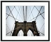 Sonic Editions Brooklyn Bridge (Framed)