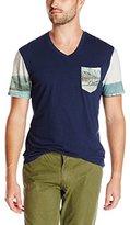 Buffalo David Bitton Men's Nishot Short Sleeve Knit Shirt