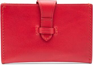 Bosca Italo Leather Card Case