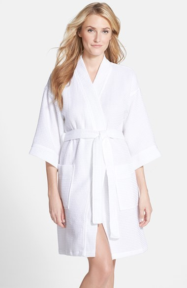 Nordstrom Waffle Cotton Robe