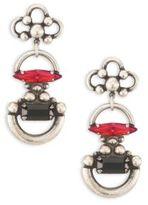 Dannijo Bombay Crystal Drop Earrings