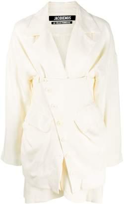 Jacquemus layered buttoned blazer