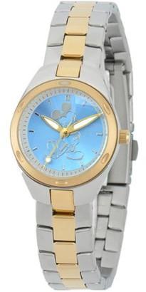 Mickey Mouse Women's Fortaleza Stainless Steel Watch, Two-Tone Bracelet