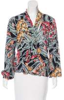 Mara Hoffman Floral Print Long Sleeve Top