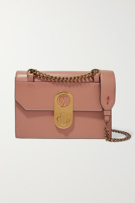 Christian Louboutin Elisa Small Leather Shoulder Bag - Pink