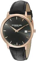 Raymond Weil Men's 5488-PC5-20001 Analog Display Quartz Black Watch