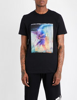 Blood Brother Paranoid graphic-print cotton-jersey T-shirt