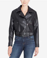 Catherine Malandrino Veruca Faux-Leather Moto Jacket