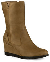 UGG Joely Suede Wedge Boots