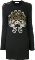 Versace oversized embellished sweatshirt