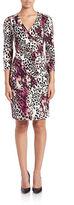 Calvin Klein Leopard-Print Sheath Dress