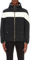 Moncler Gamme Bleu Stripe-detail shell jacket