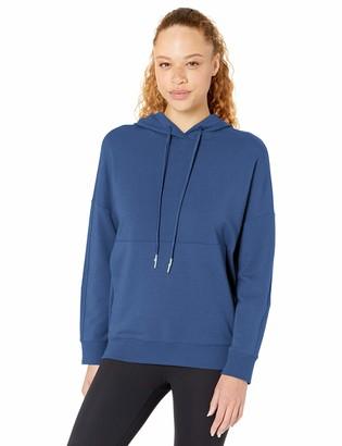 Core 10 Women's Plus Size Soft Cotton Modal Oversized Relaxed Fit Sweatshirt Hoodie