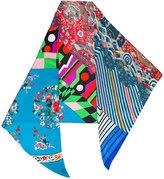 Pierre Louis Mascia Pierre-Louis Mascia - clashing prints scarf - women - Silk - One Size