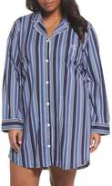 Lauren Ralph Lauren Stripe Night Shirt