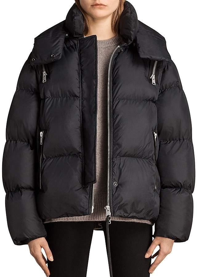 AllSaints Vice Oversized Puffer Jacket