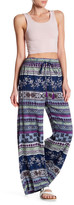 Angie Flare Print Pant
