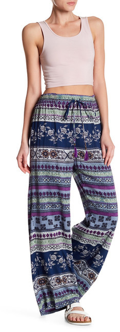 Angie Flare Print Pants