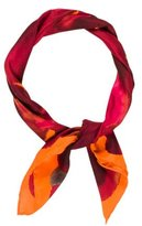 Gucci Abstract Printed Silk Scarf