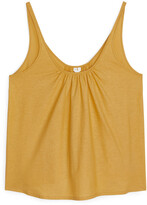 Arket Gathered Top