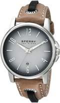 Sperry Men's 10018704 Seasider Analog Display Japanese Quartz Blue Watch