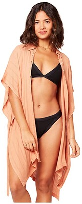 L-Space Anita Cover-Up Dress (Toasted) Women's Swimwear