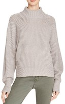 Rebecca Minkoff Algo Ribbed Mock Neck Sweater