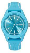 Reebok Blue Silicone Strap Watch