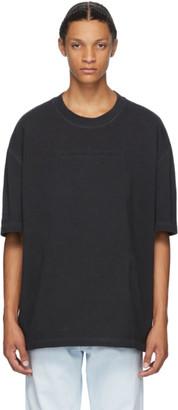 Maison Margiela Black Oversize Garment Dye T-Shirt