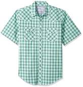 Wrangler Men's 20X Competition Short Sleeve Snap Front Shirt