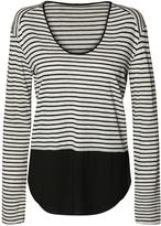 Dex Striped Knit Top